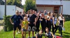 Uczniowie II LO w Złotowie na obozie sprawnościowym w Kiekrzu
