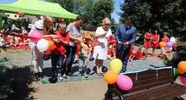 Przedszkole nr 2 w Złotowie ma już nowy plac zabaw