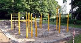Lipka ma swój street workout park