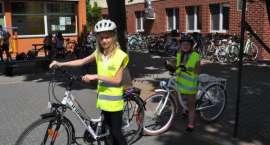 Egzamin na kartę rowerową w złotowskiej