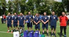 Złotowscy policjanci na podium V Turnieju Służb Mundurowych w Piłce Nożnej