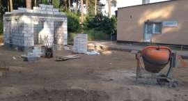 Trwa budowa targowiska w Zakrzewie