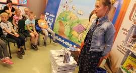 Spotkanie z Elizą Piotrowską w Miejskiej Bibliotece Publicznej w Złotowie