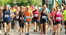 Start biegu nordic walking - Bieg Zawilca 2018