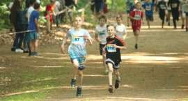 Wyniki biegów dziecięcych Złotowskiego Biegu Zawilca