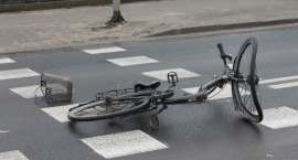 Potrącił rowerzystkę na oznakowanym przejściu dla pieszych. Stracił prawo jazdy