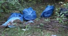 Coraz więcej śmieci w Rezerwacie Czarci Staw