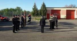 Dzień Flagi w złotowskiej straży pożarnej