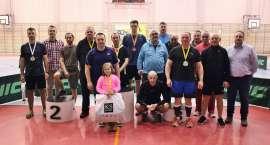 Mistrzowie gry pojedynczej Złotowskiej Ligi Tenisa Stołowego