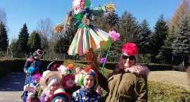 Przedszkolaki z Publicznego Przedszkola w Krajence przywitały wiosnę