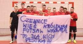 Iskra Czernice mistrzem Złotowskiej Ligi Futsalu