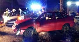 Wypadek na trasie Pniewo-Ciosaniec