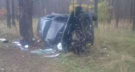 Wypadek drogowy na DK11