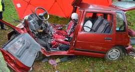 Śmiertelny wypadek na trasie Okonek - Podgaje