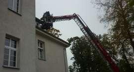 Pożar na ginekologii w złotowskim szpitalu