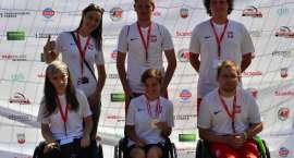 Reprezentacja Fundacji Złotowianka z trzema medalami
