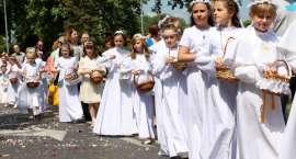 Procesje Eucharystyczne Bożego Ciała w Złotowie
