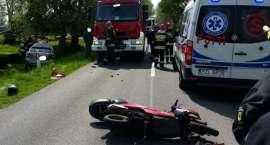 Wypadek na trasie Lipka - Zakrzewo