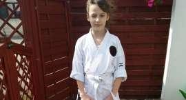 Zuzanna Totoń - młoda mistrzyni karate