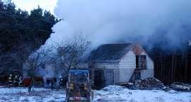 Poranny pożar w Kościerzynie Małym