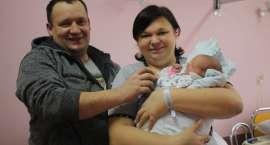 Pierwsze dziecko urodzone w Nowym Roku w Złotowie