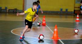 Piłkarskie Ferie 2014, czyli zajęcia sportowe zorganizowane przez złotowską trójkę