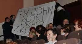 Protestowali przeciwko wizycie Passenta w Złotowie. Uważają, że rozsławili miasto