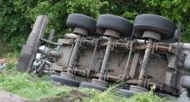 Wypadek na trasie Złotów - Zakrzewo