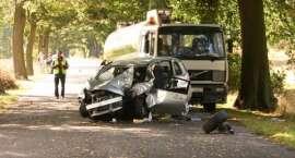 Wypadek na trasie Złotów-Kujan