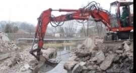Budowa nowego mostu nad Głomią