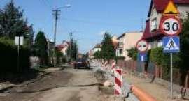 Remont ulicy Królowej Jadwigi