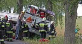 Wypadek na trasie Radawnica-Lędyczek