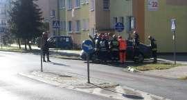 Zderzenie na skrzyżowaniu ulic Boh. Westerplatte i Nieznanego Żołnierza