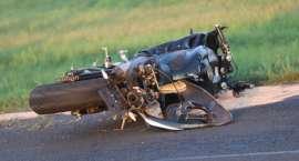 Zdarzenie drogowe z udziałem motocyklisty