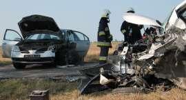 Czworo poszkodowanych w wypadku trafiło do szpitala
