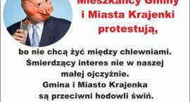 Mieszkańcy Krajenki będą protestować