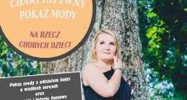 Charytatywny pokaz mody w CWK Zacisze w Złotowie