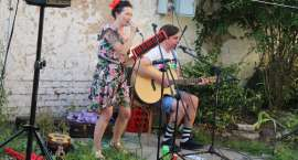 Koncert BIFF na podwórku w Jastrowiu [WIDEO]