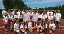 Akademia Siatkówki Sparty Złotów na obozie sportowym