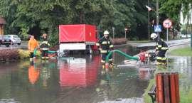 Podtopienia i zalania w Zakrzewie