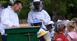 Wizyta pszczelarza w Publicznym Przedszkolu w Krajence [WIDEO]
