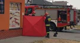 Strażacy pomogli mężczyźnie