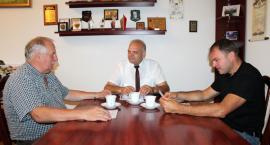 Spotkanie starosty z kierownikiem Powiatowego Zespołu Doradztwa Rolniczego w Złotowie