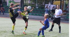 Młodzicy FA Fair Play Złotów kontra młodzicy Sparty Złotów