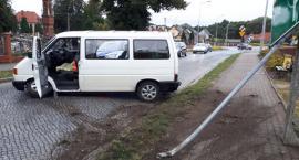 Nietrzeźwy kierowca sprawcą kolizji w Krajence