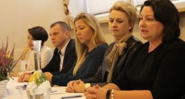 Konferencja prasowa poświęcona inwestycji, jaką przeprowadzi MZWiK w Złotowie