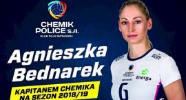 Agnieszka Bednarek kapitanemChemika Police