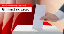 Wyniki wyborów samorządowych 2018 - do Rady Gminy Zakrzewo