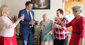 Pani Janina Kulbaczewska ze Złotowa świętuje dziś swoje 101. urodziny!
