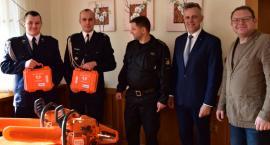 Nowy sprzęt dla Ochotniczej Straży Pożarnej